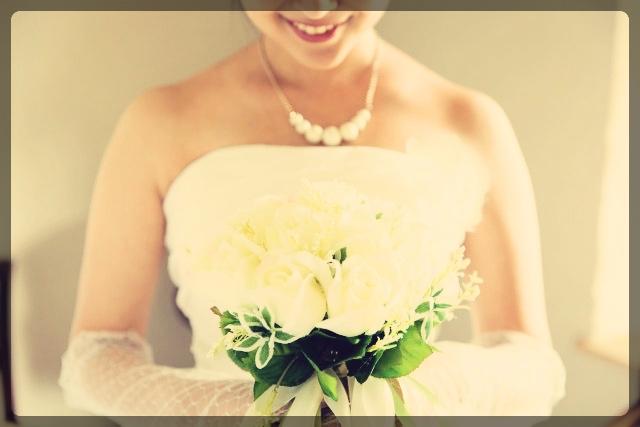 結婚式当日をイメージして