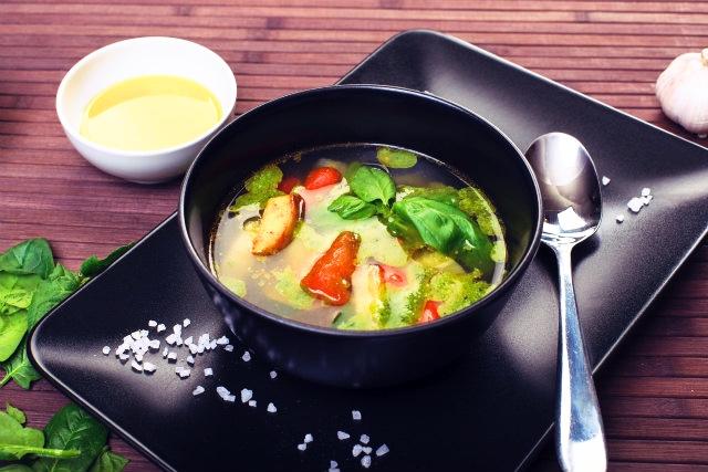 野菜スープに置き換える
