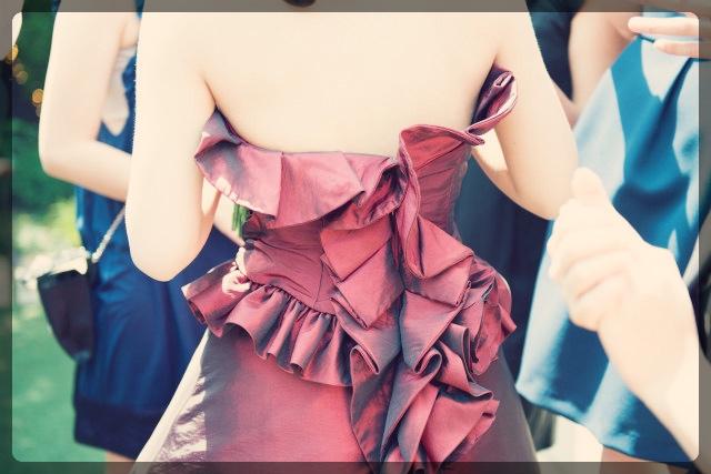 ドレスで露出する部分だけのダイエット
