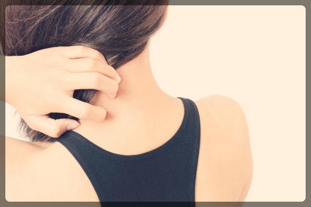 背中のかゆみや初期症状にはボディーローション