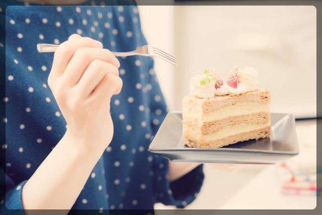 太りにくい時間に甘いものを食べる