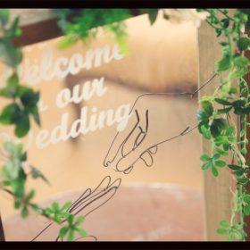 結婚式のウェルカムボードのおすすめ
