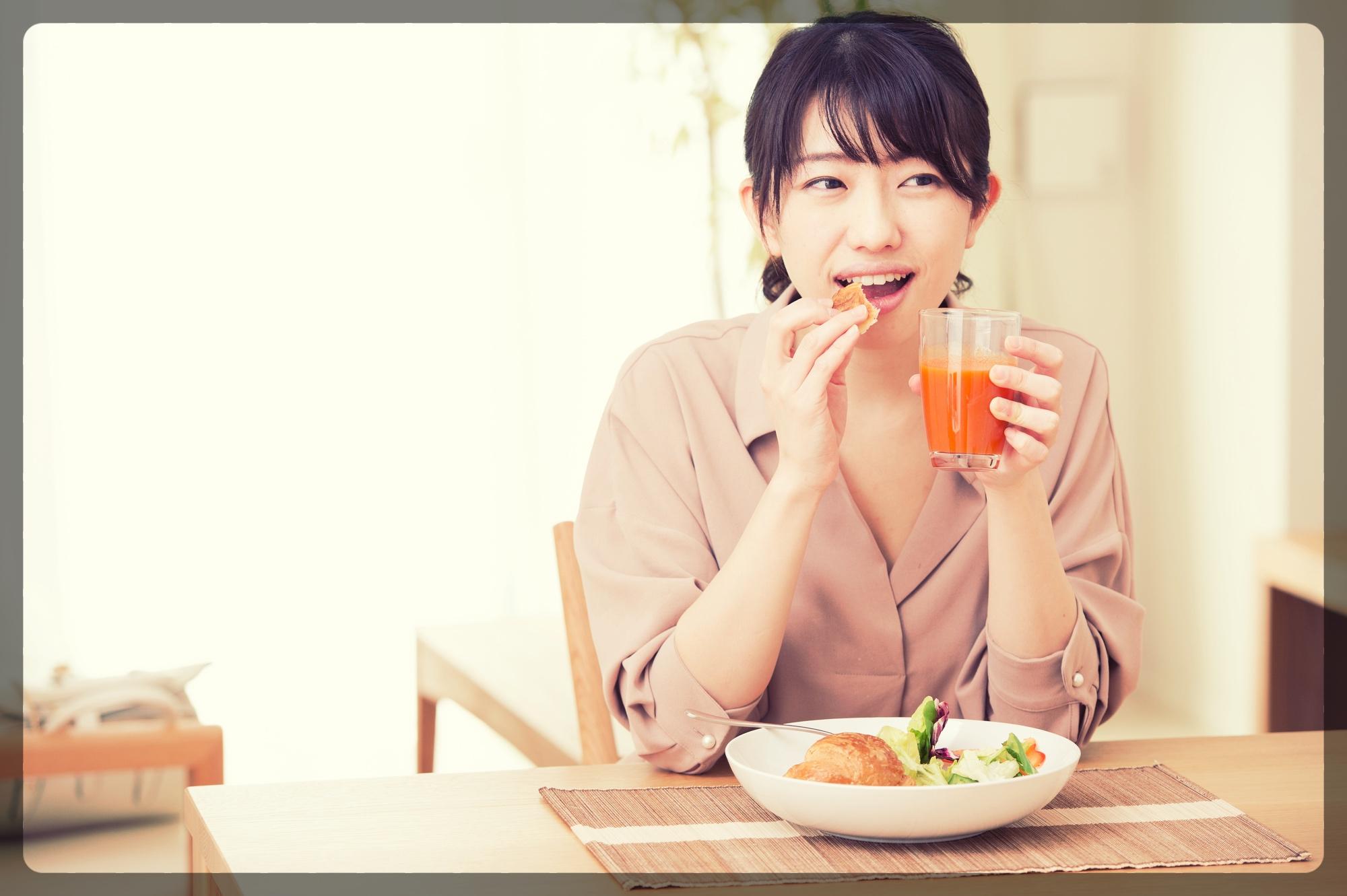 ダイエットの秘訣は朝食を必ず食べること
