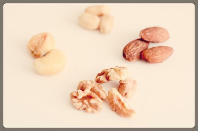 ビタミンが豊富なナッツ