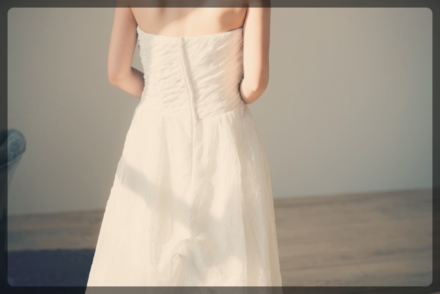 ウェディングドレスのサイズ