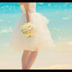 リゾ婚、夏のブライダル