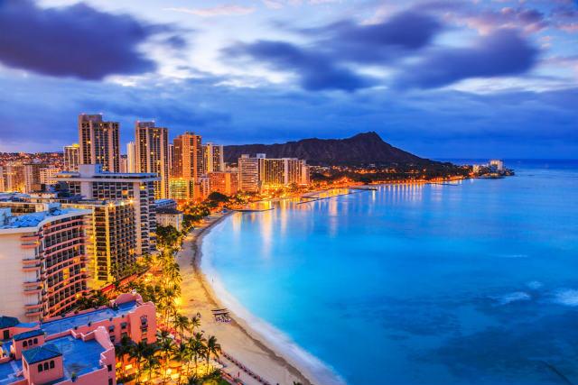 ハネムーンで根強い人気のハワイ