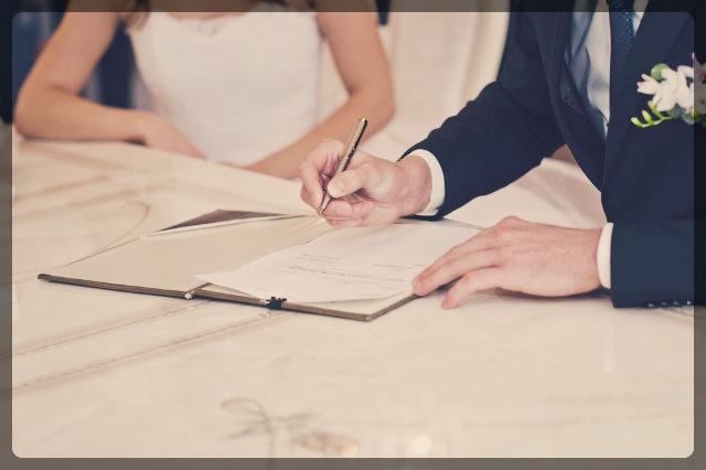 結婚前の口約束とは別に書面約束