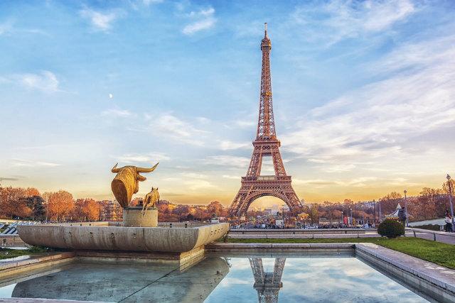 新婚旅行で写真映えするフランス